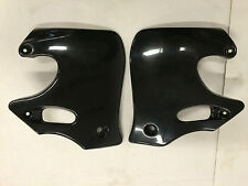 UFO Plastics Honda 93-94 CR 125 92-94 CR 250 Black Radiator Shrouds CR125 / 250R