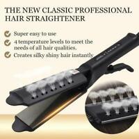 Ceramic Tourmaline Ionic Flat Iron Hair Straightener Professional Glider-US PLUG