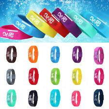 Multifunction Electronic LED Sport Digital Wrist Watch For Child Boy Girl Kids