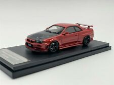 1/43th HPI Nissan Skyline R34 GTR Z-Tune Red Free shipping/ MR BBR