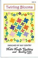 Twirling Blooms Unused Quilt Pattern by Kay Gentry