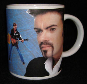 GEORGE MICHAEL MUG GREAT DESIGN LIMITED EDITION NEW PERSONALISED WITH NAME
