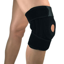 Knee Brace for Running, Basketball, Injury Recovery. Adjustable Strapping