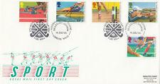 (10537) GB FDC Commonwealth Games Hockey World Cup Willesden 15 July 1986