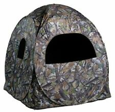 "NEW Portable Camo Pop-Up Ground Hunting Blind with Backpack 60""x60""x65""! Deer"