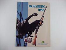 1988 MOSSBERG SHOTGUN Catalog, Ammo Gun Firearm, Stock Brochure