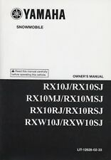 2004 YAMAHA SNOWMOBILE MANUAL LIT 12628-02-33 (407)