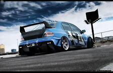 """132 Modified Cars - Mitsubishi lancer evolution Luxury Racers 22""""x14"""" Poster"""