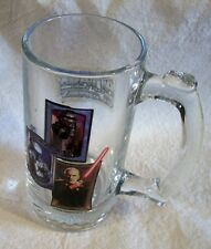 AF0534 ONE STAR WARS GLASS MUG Stein ATTACK OF THE CLONES Villain Collect Gift