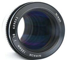 Nikon Nikkor Non-Ai 135mm F/2.8 Lens No. 439053 Excellent