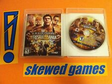 WWE Legends of WrestleMania - PS3 PlayStation 3 Sony COMPLETE