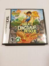 Go, Diego, Go Great Dinosaur Rescue (Nintendo DS, 2008)