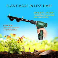 """Yard Roto Earth 9"""" Irrigating Planting Auger Drill Bits Digs Hole For Bulb Plant"""