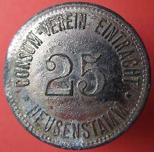 Old Rare Deutsche token -Heusenstamm -C V Eintacht -25 -14460.3 -mehr am ebay.pl