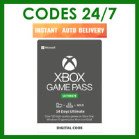 14 Days Xbox Game Pass Ultimate - Xbox Live Gold Membership + Pass - Xbox One