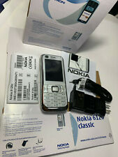 ORIGINAL NEW NOKIA 6120 Classic 6120i 6120c MOBILE PHONE UNLOCKED 3G ntwk WHITE