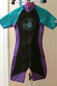 Dive WetSuit BODY GLOVE 2mm MENS Size SMALLShorty Black  Snorkeling Swimming