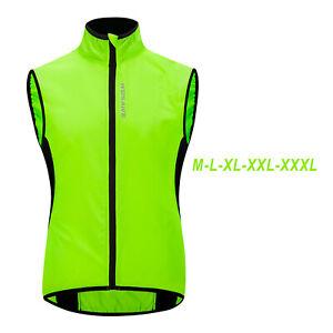 Waterproof Reflective Safety Mesh Vest Outdoor Night Running Cycling Biking