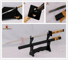 FULL FUNCTIONAL JAPANESE NINJA SWORD 9260 SPRING STEEL KIRIHA-ZUKURI BLADE SHARP