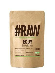 #RAW ECDY Ecdysterone (120 x 250mg Caps)