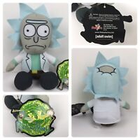 Rick and Morty Plush (Rick) Official License Toy Factory Adult Swim New