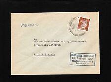 Germany Hitler Head 3p NSDAP Arbeitsfront Strength Thru Joy Altkirch 1943 6y