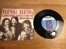 "ABBA BJORN & BENNY, AGNETHA & ANNI-FRID ""RING, RING/SHE´S MY KIND OF GIRL"" 1973*"