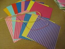 """Stampin' Up! Brights SPECIALTY 6 X 6"""" Designer Paper Card Kit Ribbon"""