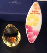 "Boxed Swarovski Happy Duck ""Sunny Steve with his Surfboard"" 1096743 Mint Cond"