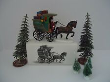 """Dept 56. H.V.C.,# 58400, The Christmas carol revisited, """"The Fezziwig Delivery"""""""