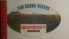 Aufkleber/Sticker: quadral Mobile for Sound Riders (191116195)