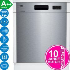 Beko Unterbau Edelstahl Geschirrspüler Einbau Geschirr Spülmaschine 60cm NEU A++