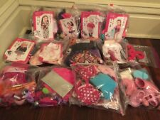 HUGE Our Generation Doll Clothes Accessories Lot Complete Sets