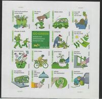 US MNH Forever Stamps - Scott # 4524 - Go Green - Complete Sheet             (M)