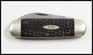Vintage CASE XX Elephant Toe 6250 folding knife 1965-1969 LOOK NICE