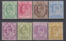 Cape of Good Hope 1902 Mint Mounted Set to 1/-