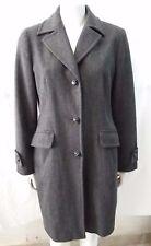 giacca jacket cappotto con cinta donna 80% lana Marella taglia 44