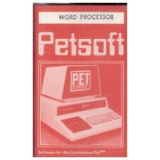 Word Processor for Commodore PET from Petsoft