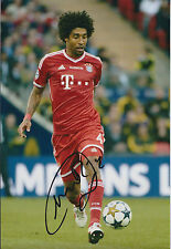 DANTE Signed Autograph Photo AFTAL COA Germany Bayern Munich BRAZIL