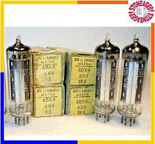 6BX4 / 6X4 / EZ90 tube, Silver shield, O getter, NOS, NIB, 1 pcs TESTED
