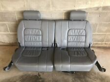 1998-2007 Toyota Land Cruiser Lexus LX470 3rd Row Leather Seats, RIGHT SEAT ONLY