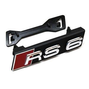 ORIGINAL Audi Emblem Schriftzug Logo RS6 4G0853736D 2ZZ 4G0853755A