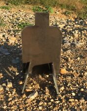 "Portable AR500 IDPA IPSC Steel Shooting Target Gong Base Stand 1/2"" X 7"" X 12"""