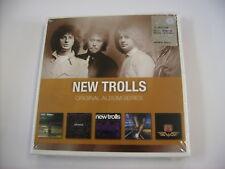 NEW TROLLS - ORIGINAL ALBUM SERIES - 5CD BOXSET NUOVO SIGILLATO 2010