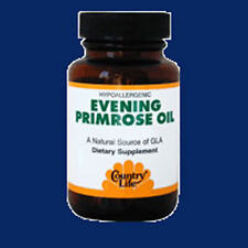 Evening Primrose Oil 60 Sftgls 500 MG by Country Life