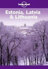 Estonia, Latvia and Lithuania (Lonely Planet) by Gauldie, Robin Paperback Book