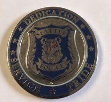 Seattle Washington Police Department Seattle Shield Dedication Service Pride