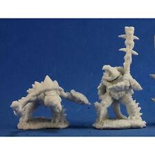 RPG Miniatures Reaper Minis Dark Heaven Bones: Spikeshell Warriors (2)