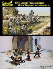 Caesar Miniatures 1/72 WWII German Fallschirmjager Heavy Weapons (7.5cm Leichtge