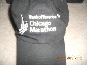 Nike Chicago Marathon Running Hat Cap Run Baby Run Train For October Rare  Black